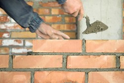 Laying Brick - Masonry Services